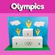 Olympic Podium 3D Craft