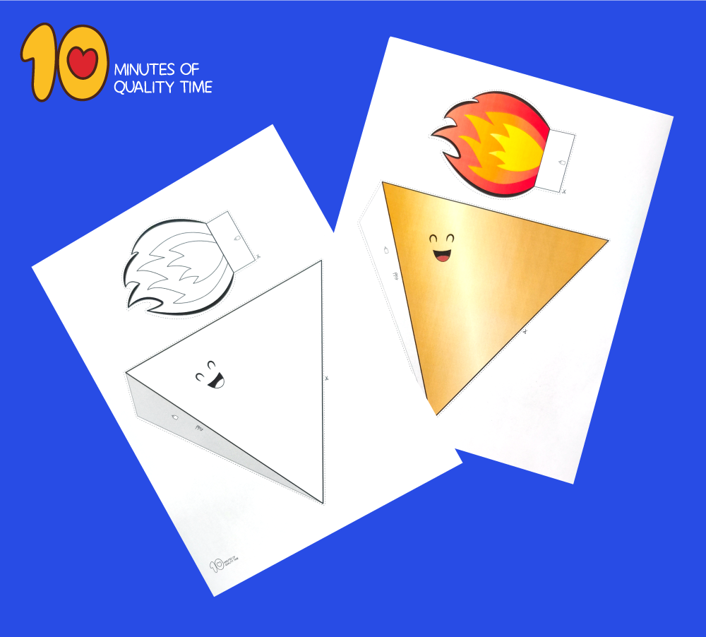 olympic flame craft
