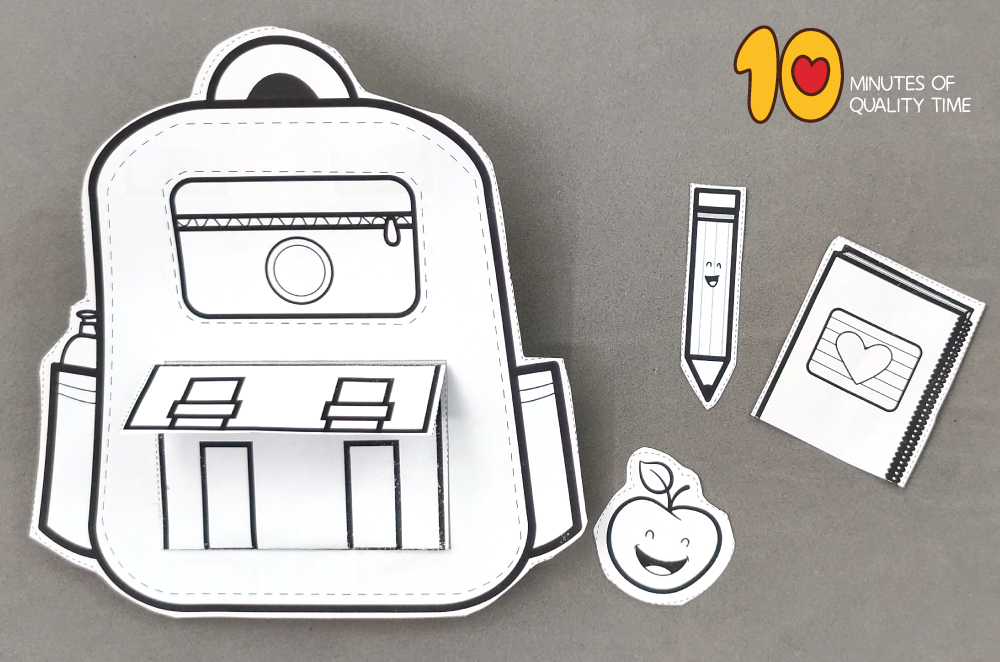 back to school craft for first grade