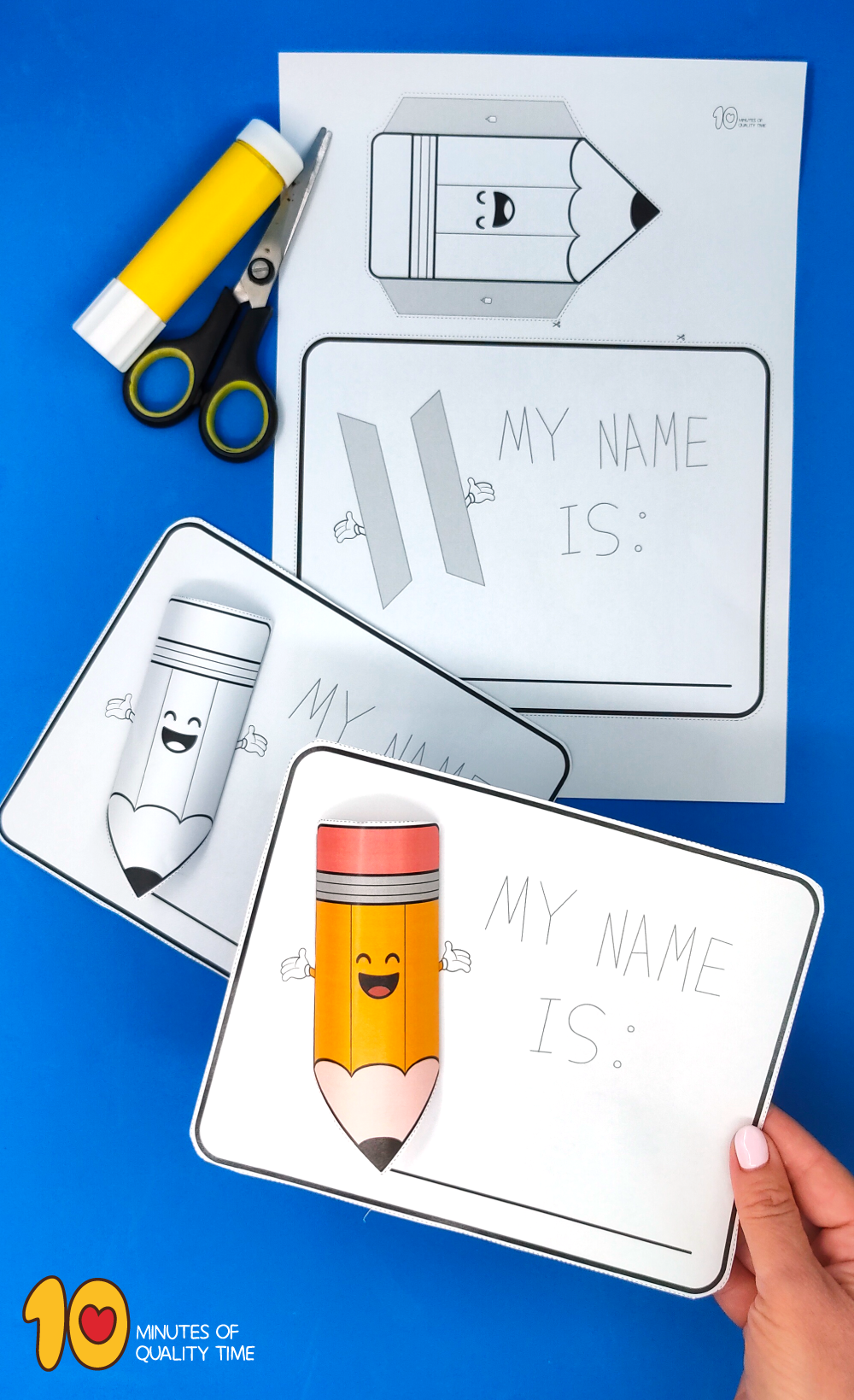 back to school crafts with paper