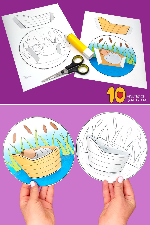 moses crafts for preschoolers