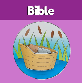 Moses in the Basket 3d Craft