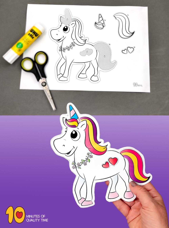 unicorn craft preschool