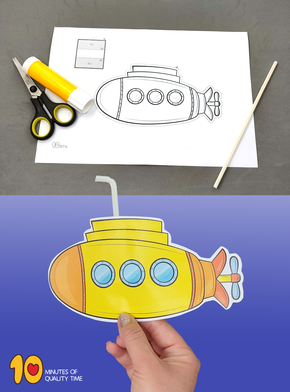 submarine craft ideas