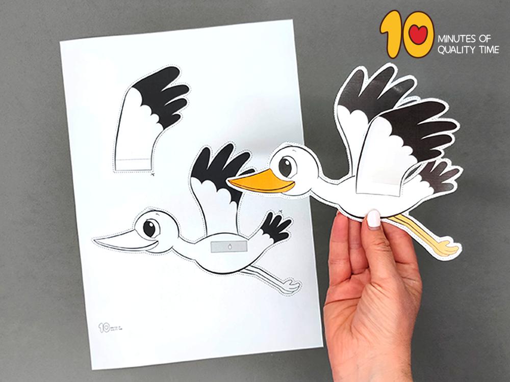 stork preschool activities