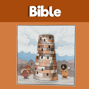 Tower of Babel - 3D Bible Craft