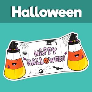 Happy Halloween Folding Card
